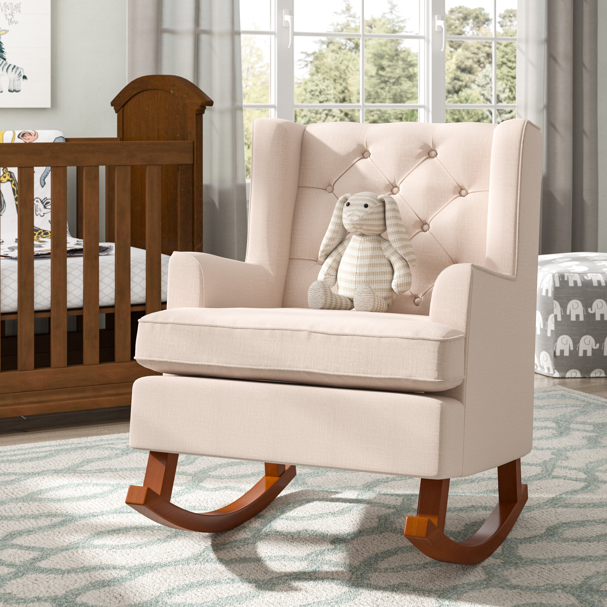 Darby Home Co Abree Rocking Chair