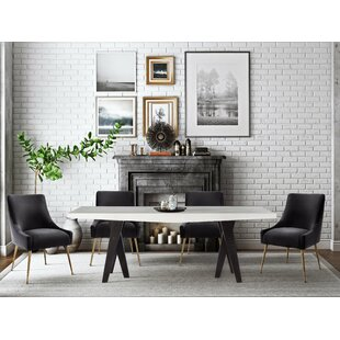 Shipman Concrete 5 Piece Dining Set
