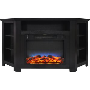 Cesar LED Electric Fireplace TV Stand by Red Barrel Studio