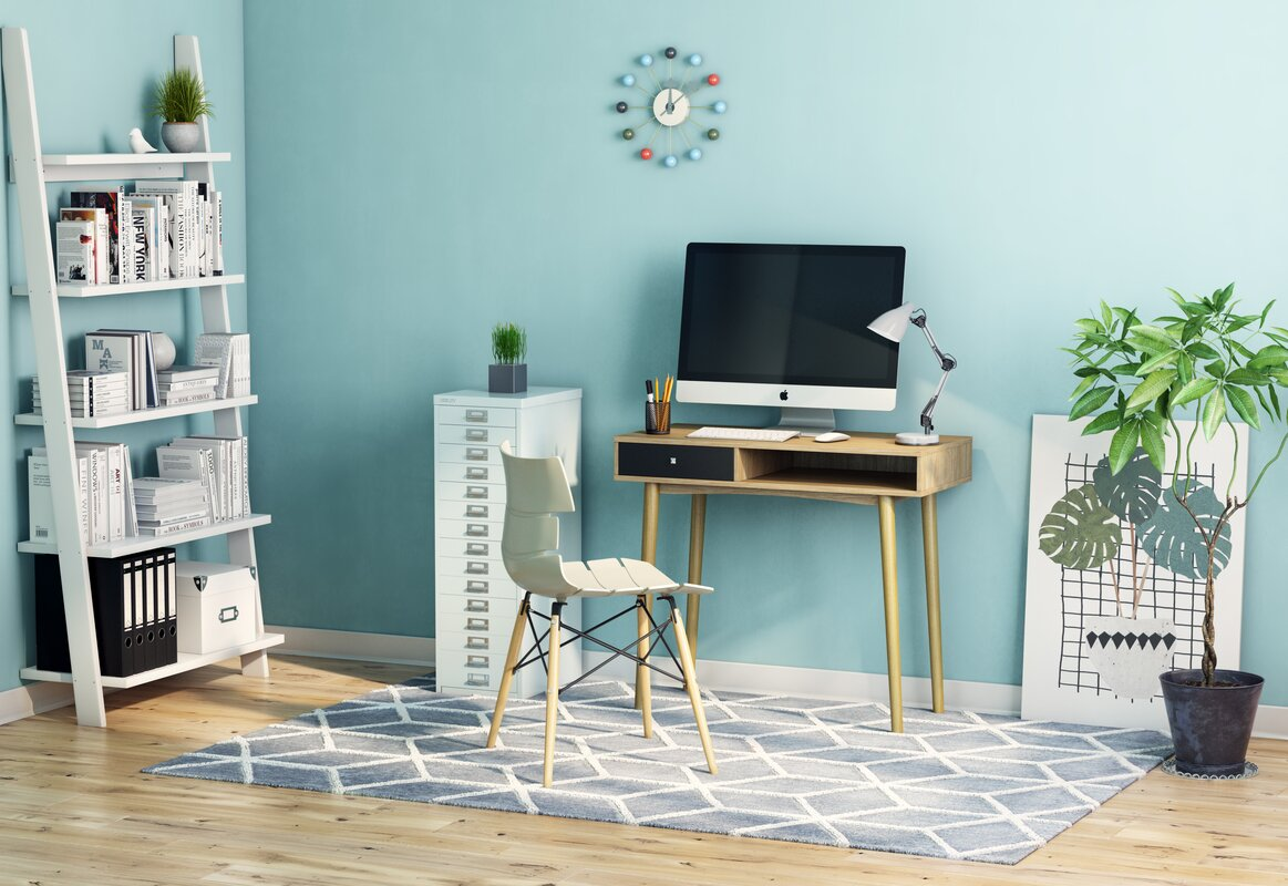 Langley Street Maze Wood Writing Desk & Reviews | Wayfair.co.uk