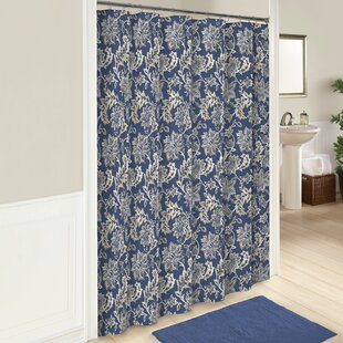 Coggeshall Cotton Shower Curtain by Andover Mills