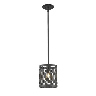 Z-Lite Fearn 1-Light Drum Pendant
