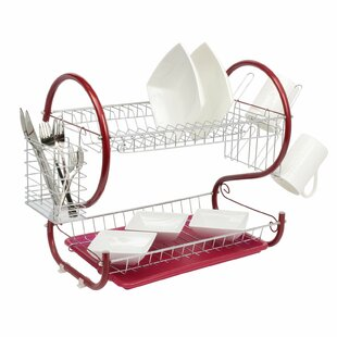 Somerset 2 Tier Dish Rack by Belfry Kitchen