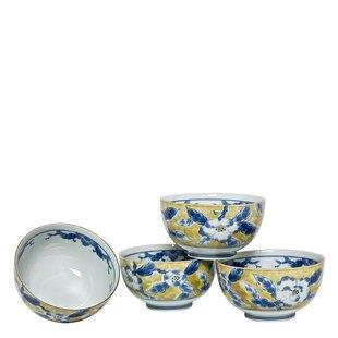 8 Oz. Flower Bowl (Set Of 4). By Miya Company