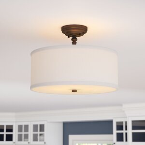 Thorpe 3-Light Semi Flush Mount