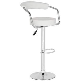 Adjustable Height Swivel Bar Stool by Safavieh