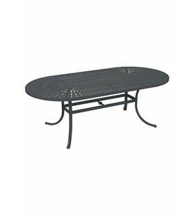Tropitone La'Stratta Aluminum Dining Table