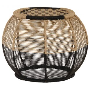 Massey Round Rope Stool By World Menagerie