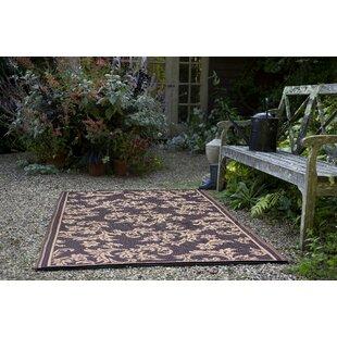 Versailles Brown Outdoor Rug by Fab Hab
