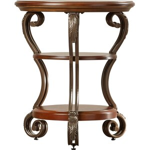 Curran Chairside Table by Alcott Hill