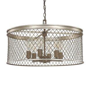Donny Osmond Home Eastman 6-Light Drum Ch..