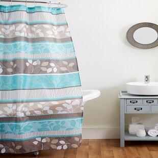 Reviews Stidstone Fabric Shower Curtain ByWinston Porter