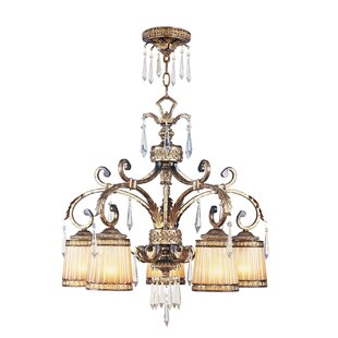 Astoria Grand Perot 5-Light Shaded Chandelier