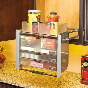 Universal Wall Cabinet Pull-Down Shelving System by Rev-A-Shelf