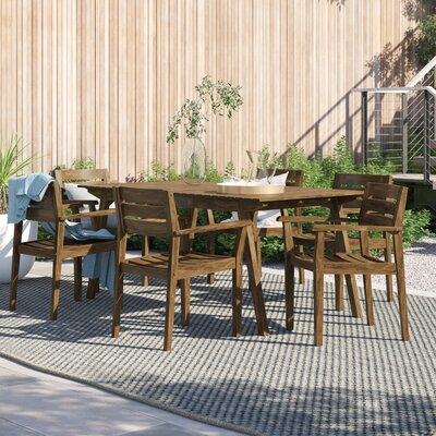 Brien 7 Piece Dining Set by Foundstone Find