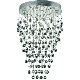 Everly Quinn Deidamia 8-Light Flush Mount