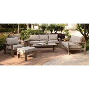 Otega 6 Piece Sofa Seating Group with Cushions