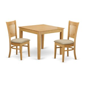 Oxford 3 Piece Dining Set by East West Furniture