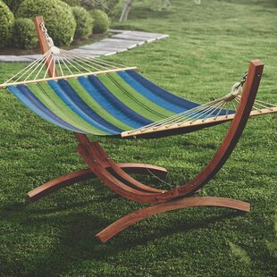 Beachcrest Home Grissom Free-Standing Hammock with Stand