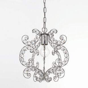 AF Lighting Sweet Dream Rapture 1-Light Crystal Pendant