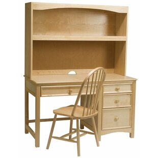 Purchase Bonneau Computer Desk with Hutch and Chair Set ByHarriet Bee
