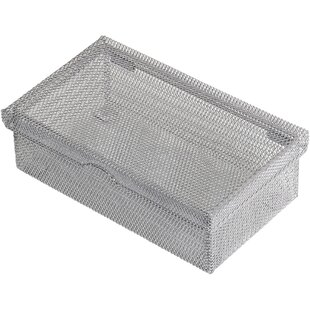YBM Home Hinged Mesh Desktop Organizer