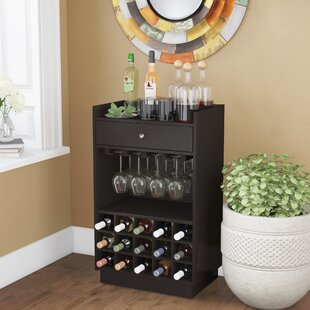 Spicer 15 Bottle Tabletop Wine Bar by Ebern Designs