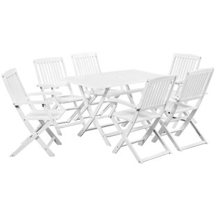 Baughman 6 Seater Dining Set By Sol 72 Outdoor