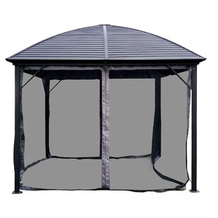 ALEKO 10 Ft. W x 10 Ft. D Steel Patio Gazebo