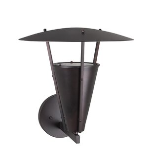 Best Price Burdine 1-Light Outdoor Sconce By Latitude Run