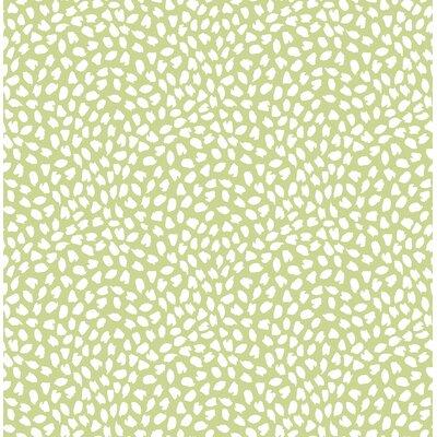 Latitude Run Heloise Confetti 32.81' L x 20.5 W Wallpaper Roll Color: Green