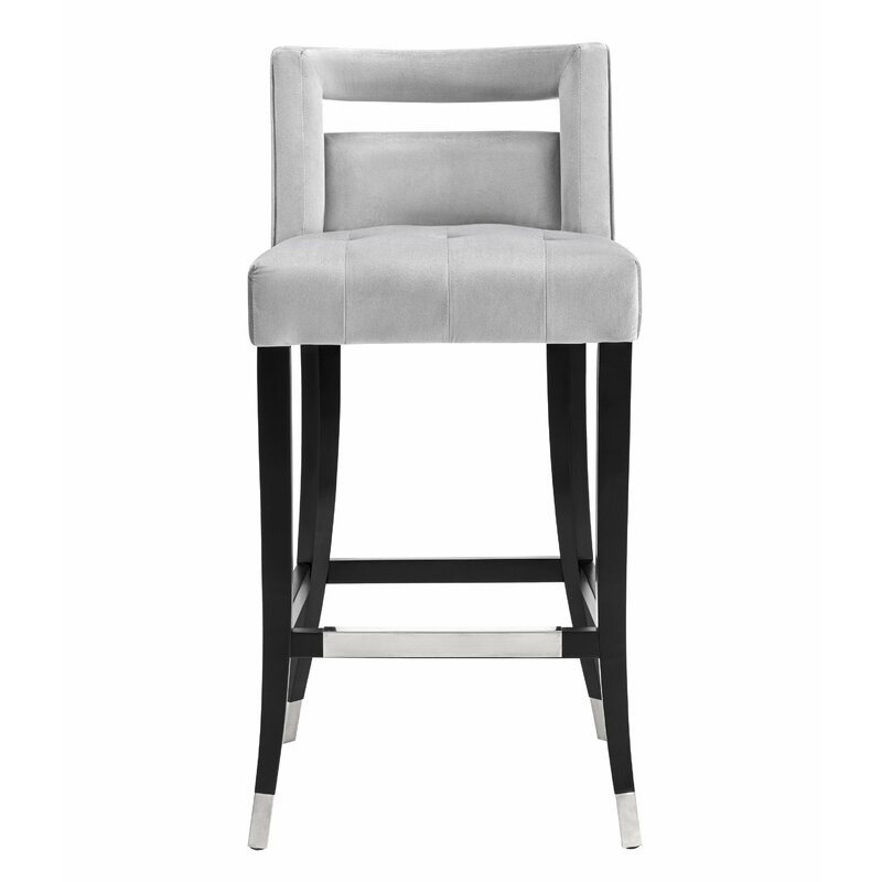 Everly Quinn Cain Bar & Counter Stool