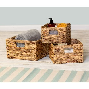 Vegan Grey Storage Basket  Handmade Bedroom Bathroom Home Decor Rustic Autumn