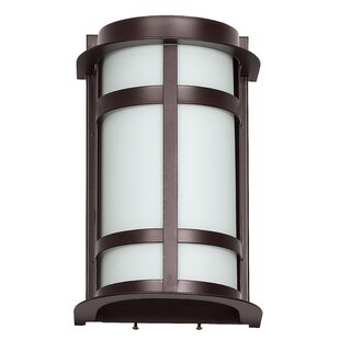 Great choice 1-Light Outdoor Flush Mount By Sunset Lighting