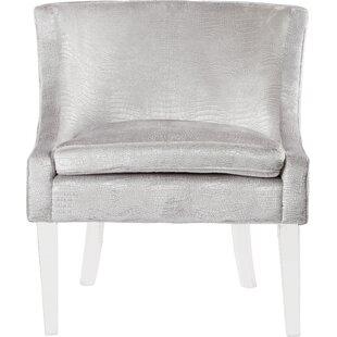 Wondrous Modern Contemporary Silver Croc Chair Allmodern Ibusinesslaw Wood Chair Design Ideas Ibusinesslaworg