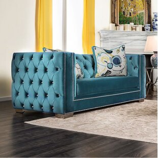Stephens Chesterfield Loveseat