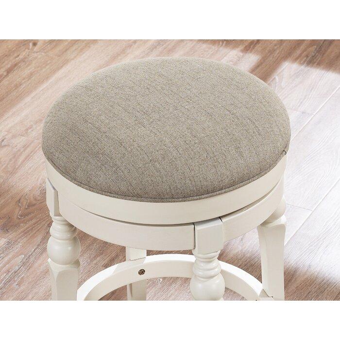 Remarkable Caulders 26 Swivel Bar Stool Bralicious Painted Fabric Chair Ideas Braliciousco