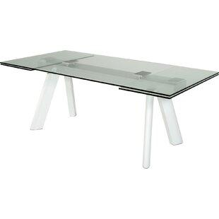 Orren Ellis Camron Contemporary 5 Piece Tempered Glass Dining Set
