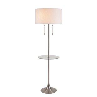 Mcginnis Morrisonville 61.75 Traditional Floor Lamp by Orren Ellis