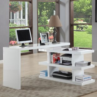 Chintaly Imports Writing Desk with Shelves