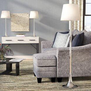 Nunan 3 Piece Table and Floor Lamp Set by Orren Ellis