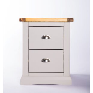 Cargo 2 Drawer Bedside Table By Brambly Cottage