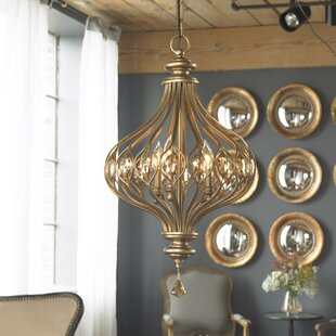 Syston 3-Light Globe Chandelier by House of Hampton