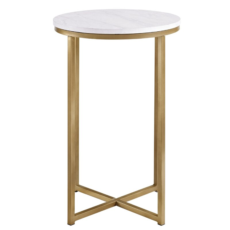 20 Chic Round Side Tables To Love Hello Lovely
