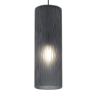 Ludowici Cylinder 1-Light Monopoint Pendant by Ebern Designs