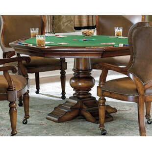 Waverly Place Reversible Top Poker Table in Cherry By Hooker Furniture
