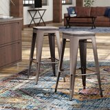 Claremont Solid Wood Bar & Counter Stool (Set of 2) by Trent Austin Design®