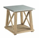 Solon Truss End Table by 17 Stories