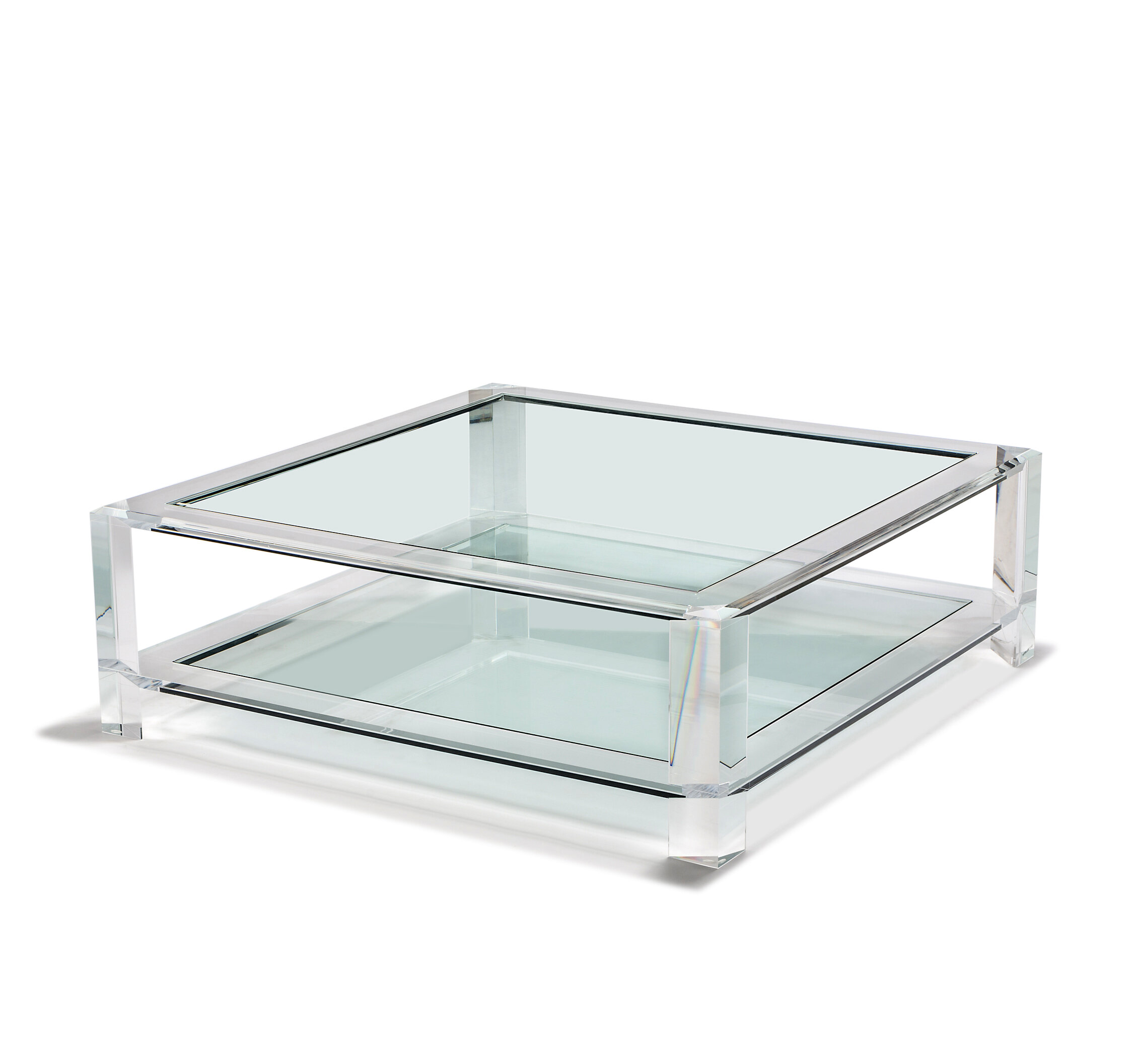 Interlude Surrey Coffee Table Perigold
