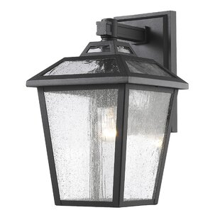 Breakwater Bay Croll 1-Light Outdoor Wall Lantern